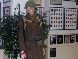 WW II wounded soldier from the 3rd Infantry Division - WW II