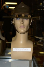World War I US Army Officer's Campaign Hat worn by Captain Donald R. Jones, Coast Artillery Corps.