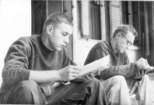 "1st Lt John Borling, USAF, (left). Capt Richard ""Pop"" Keirn (right)"