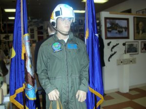 Admiral Gus Kinnear, US Navy in flight suit - WW II, Korean War, Cold War & Vietnam War