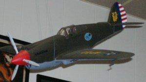 P-40 at Hickham AFB December 7, 1941