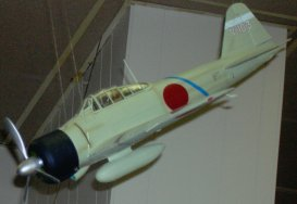 Japanese Navy Zero during WW II