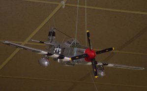 P-51 in an attack mode.
