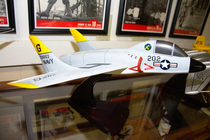 US Navy Vought F7U Cutlass
