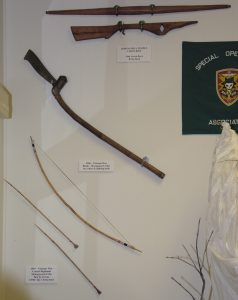Bows and arrows, and Knives of the Vietnam War