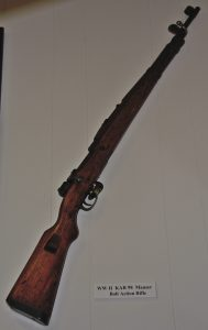 World War II KAR 98 Mauser Rifle