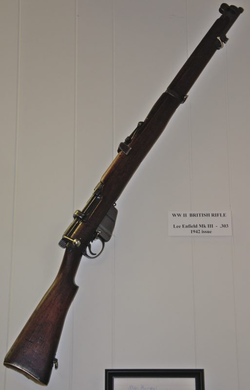 World War II British Lee Enfield Mk III .303 Rifle