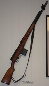 World War II Russian SVT-40 Rifle