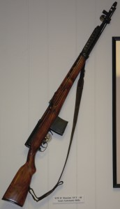 World War II Russian SVT-40 Rifle