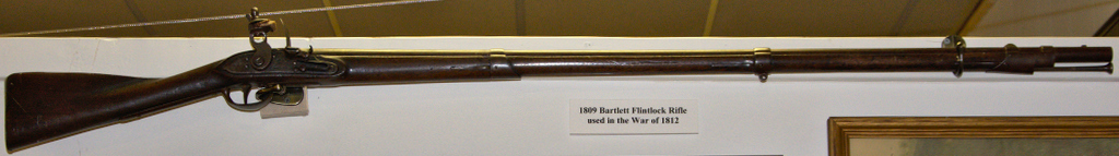 War of 1812: 1809 Bartlett Flintlock Rifle