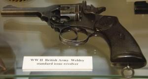 World War II British Army Webley Standard Issue Revolver