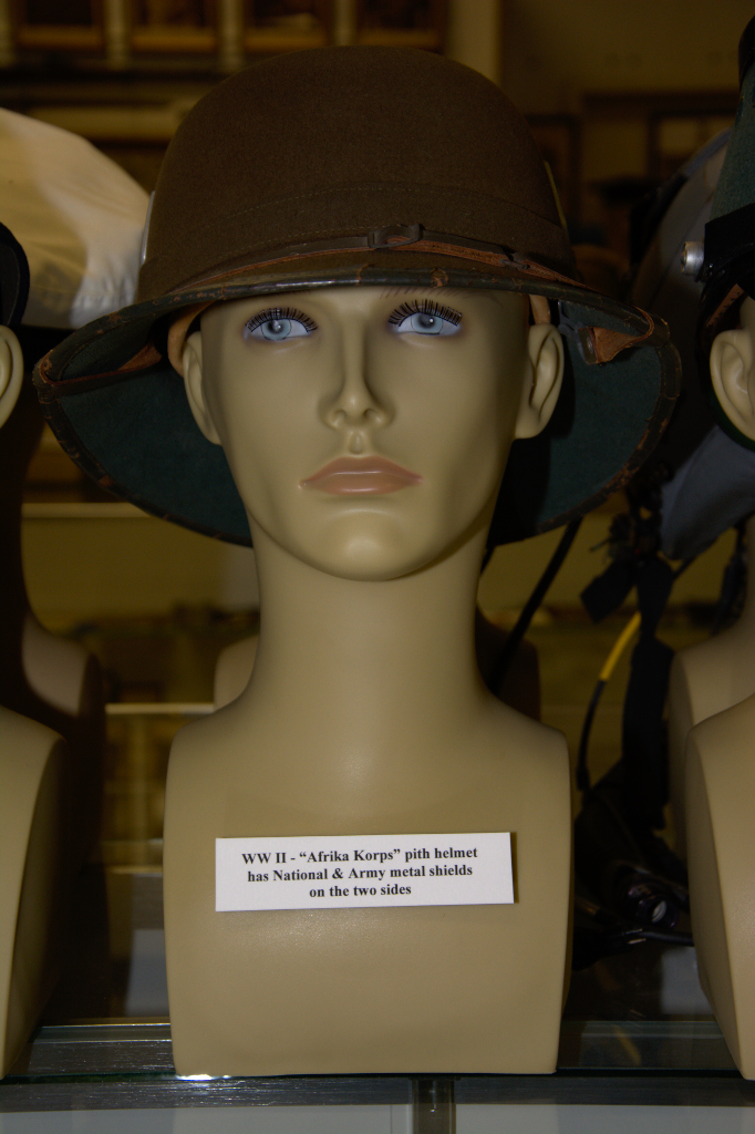 World War II ''Afrika Korps'' pith helmet