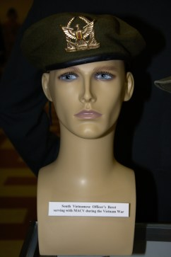 Vietnam War South Vietnamese officer's beret serving with MACV.