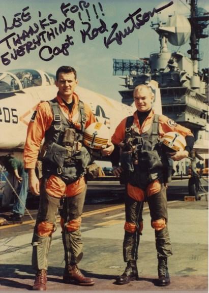 Rod Knutson (right)
