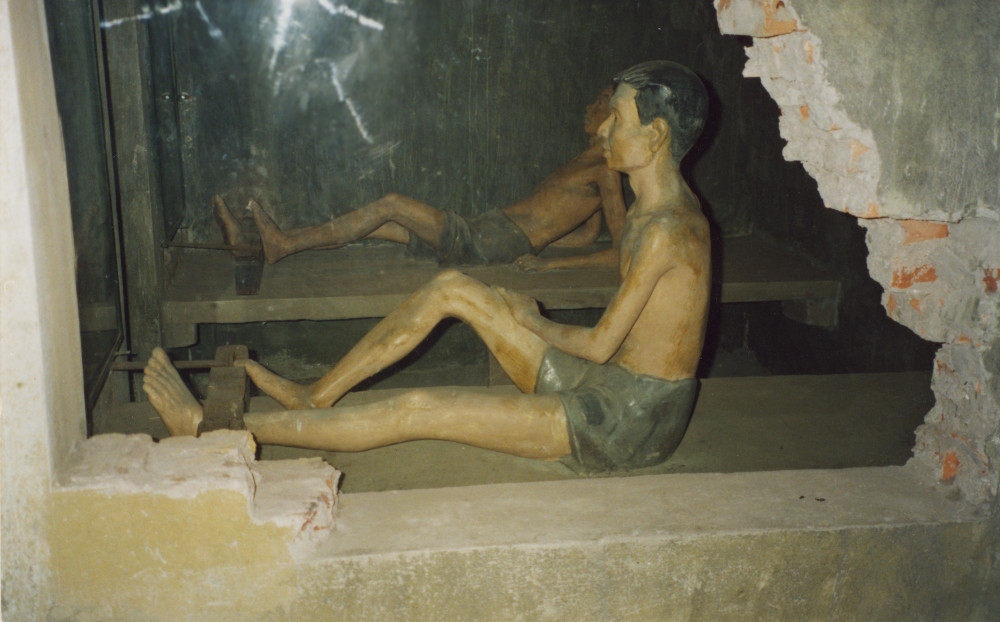Two man cell Hanoi Hilton - Taken 2-8-2000