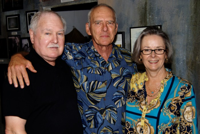 Col and Mrs. Jim Kula with Lee Humiston