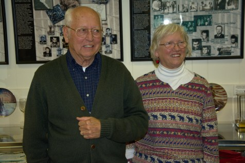 Cdr Robert S. Fant and his wife Becky