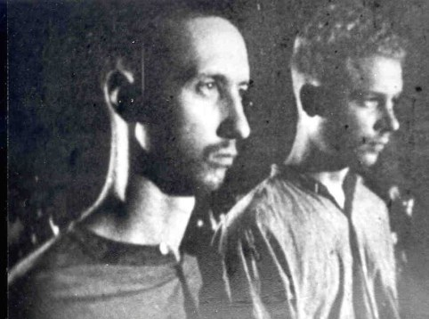 Lt Phillip Butler, USN (right). Lt Hayden Lockhart (left)