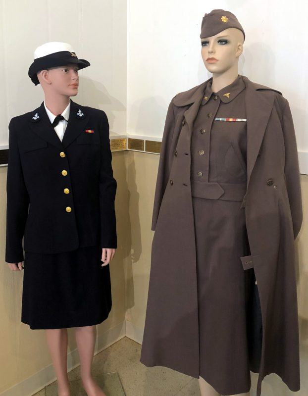 Korean War enlisted Navy & Army Officer Nurse