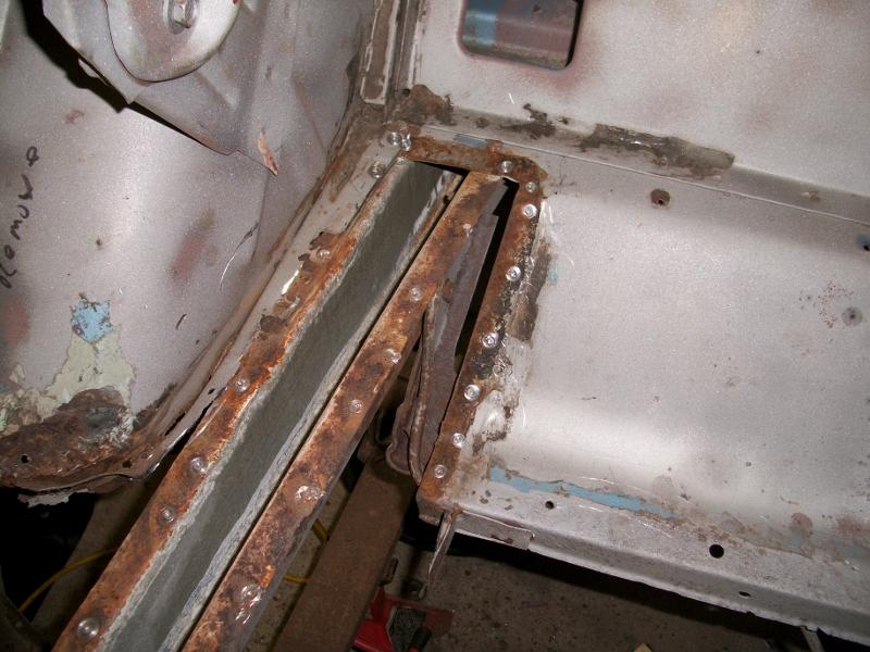 Photo Of Repair Rear Frame 1967 Mustang Maine Mustang