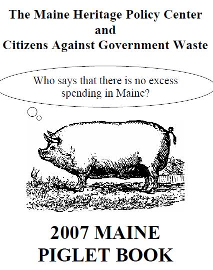 2007 Maine Piglet Book