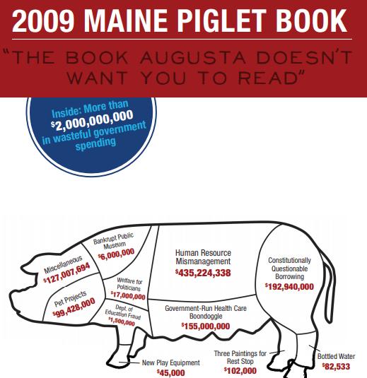 2009 Maine Piglet Book