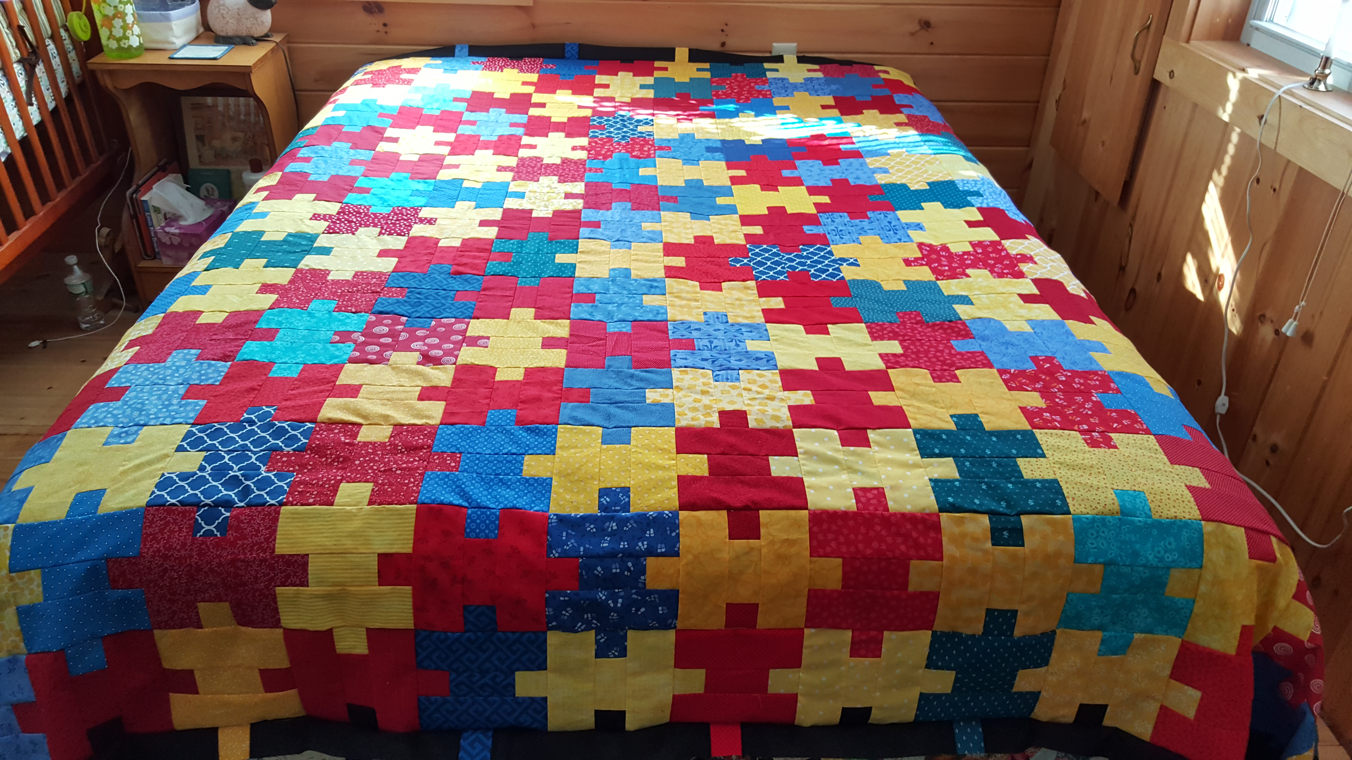 Jigsaw Puzzle Quilt Pattern File
