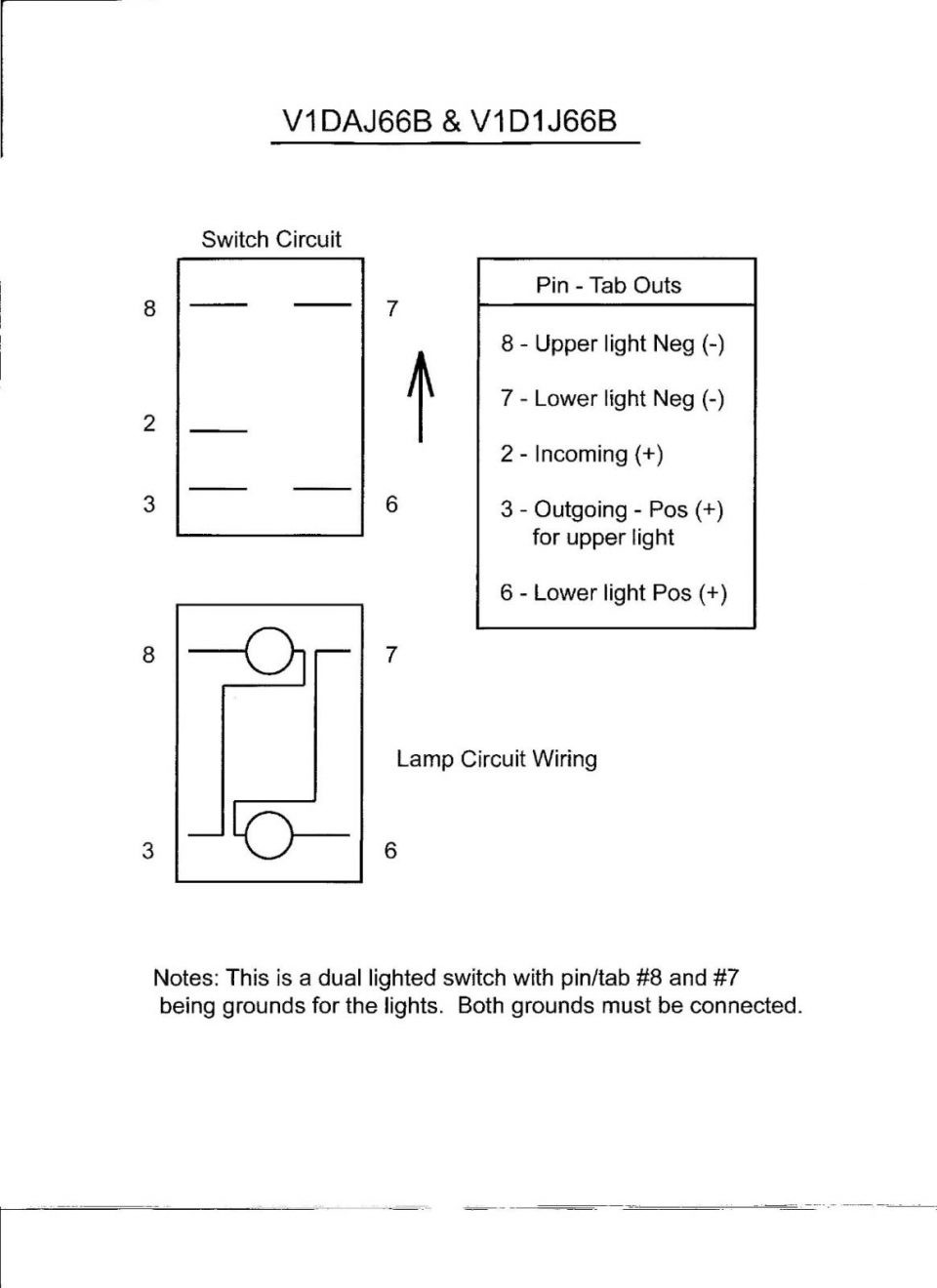Mictuning Rocker Switch Wiring - Schematic Diagrams