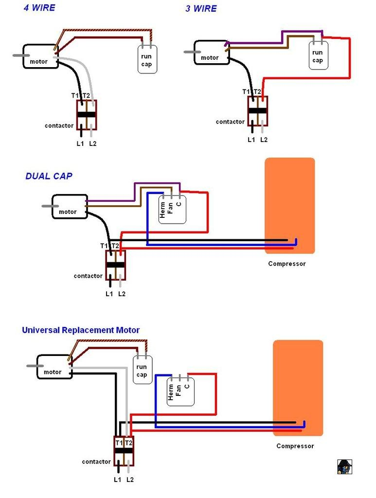 ac blower motor wiring diagram wiring diagram database u2022 rh mokadesign co carrier air conditioner fan motor wiring diagram AC Capacitor Wiring Diagram