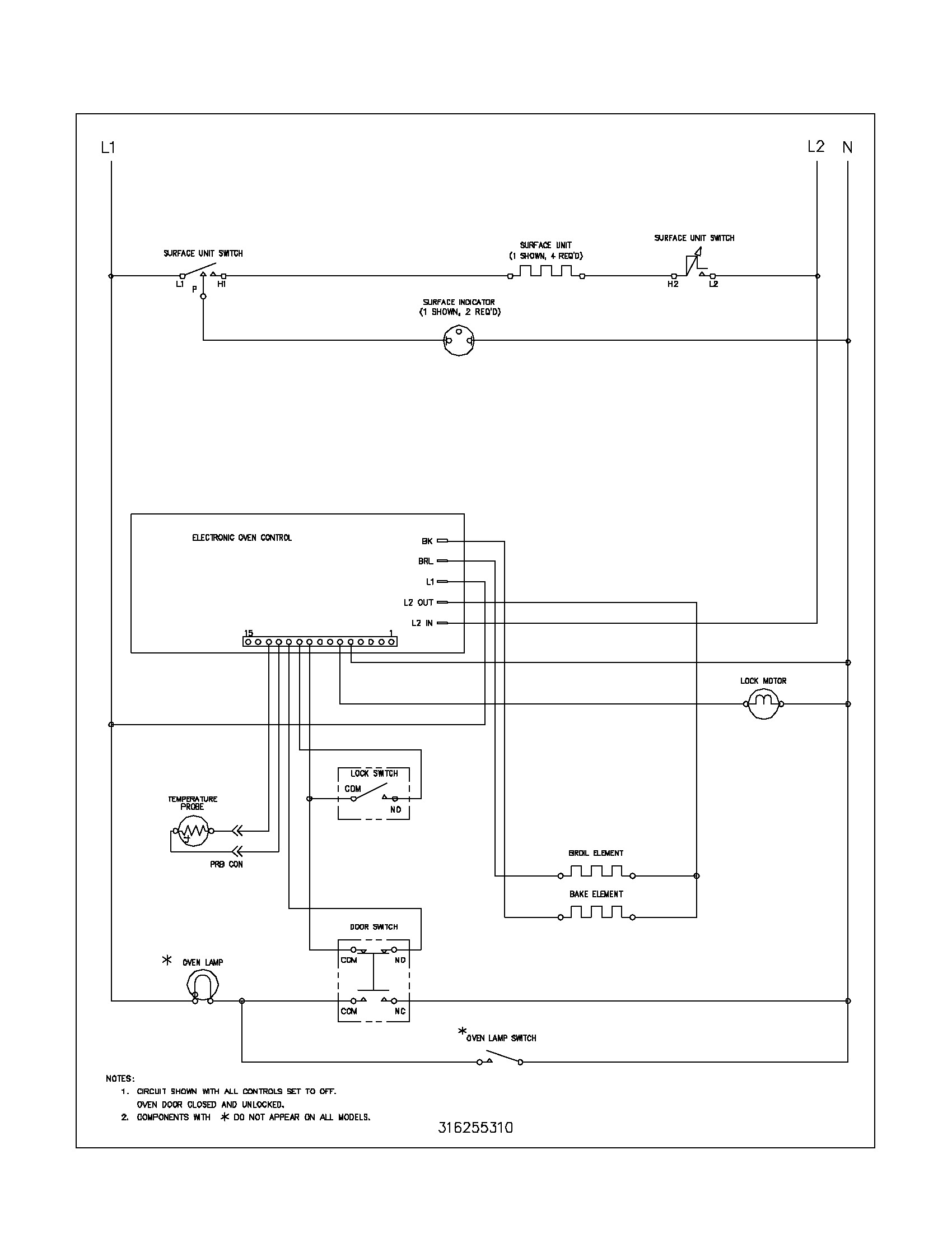 Schematic oven 5 wall wiring frigidaire reg75wl automotive block frigidaire oven wiring diagram 1956 wire center u2022 rh flrishfarm co frigidaire dishwasher wiring schematic frigidaire dryer wiring schematic swarovskicordoba Gallery