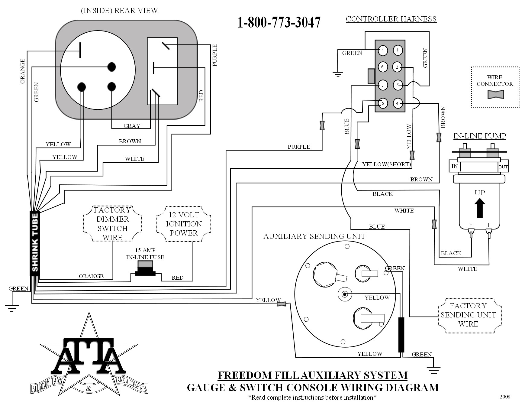 Rci Fuel Gauge Wiring Diagram