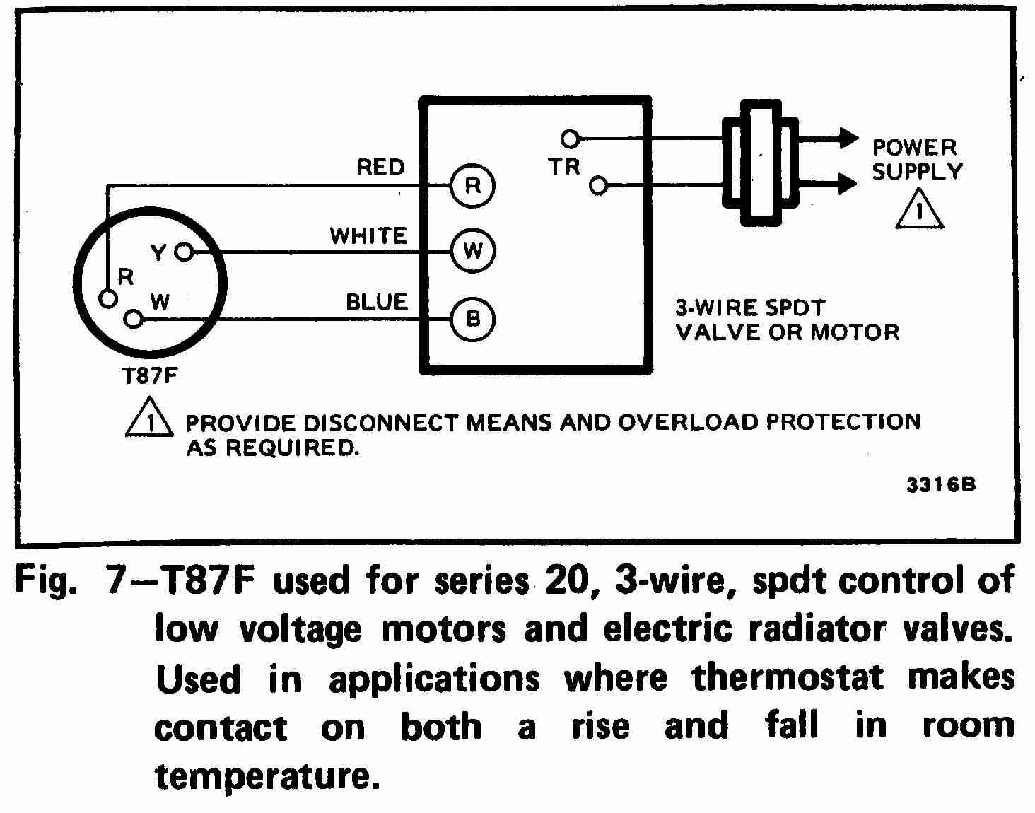 Heater Thermostat Wiring
