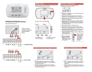 Honeywell thermostat Wiring Diagram 2 Wire | Wiring Diagram Image