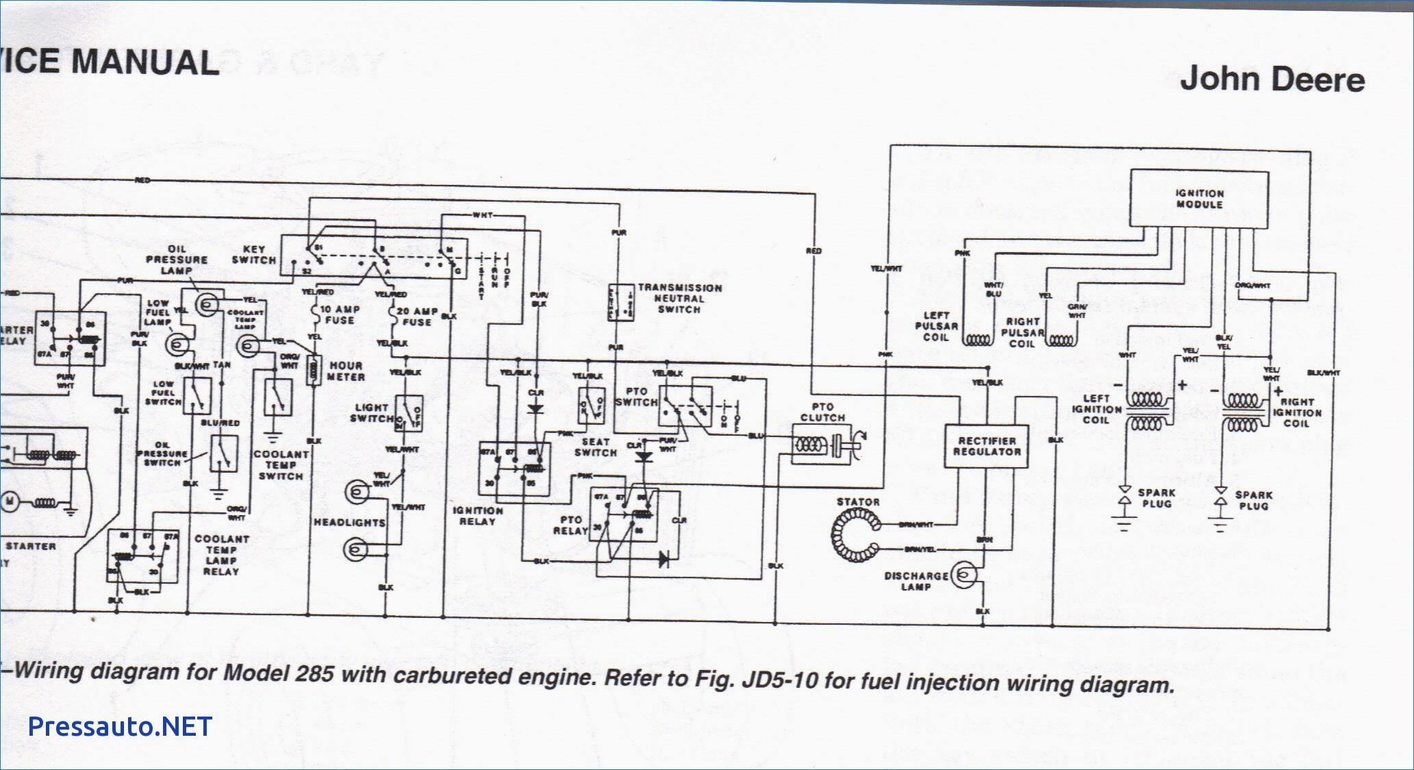 John Deere Lt155 Steering Diagram