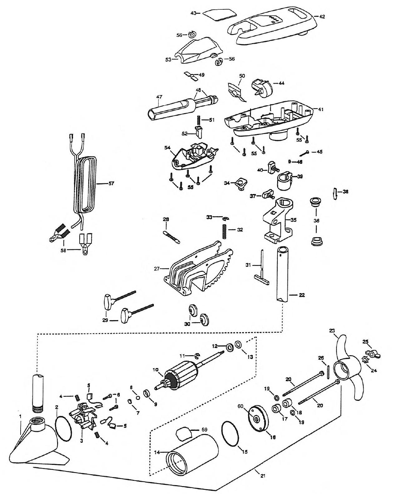 Minn kota wiring diagram manual unique wiring diagram image minn kota wiring diagram manual new minn kota turbo 65 parts 1998 from fish307 of minn kota