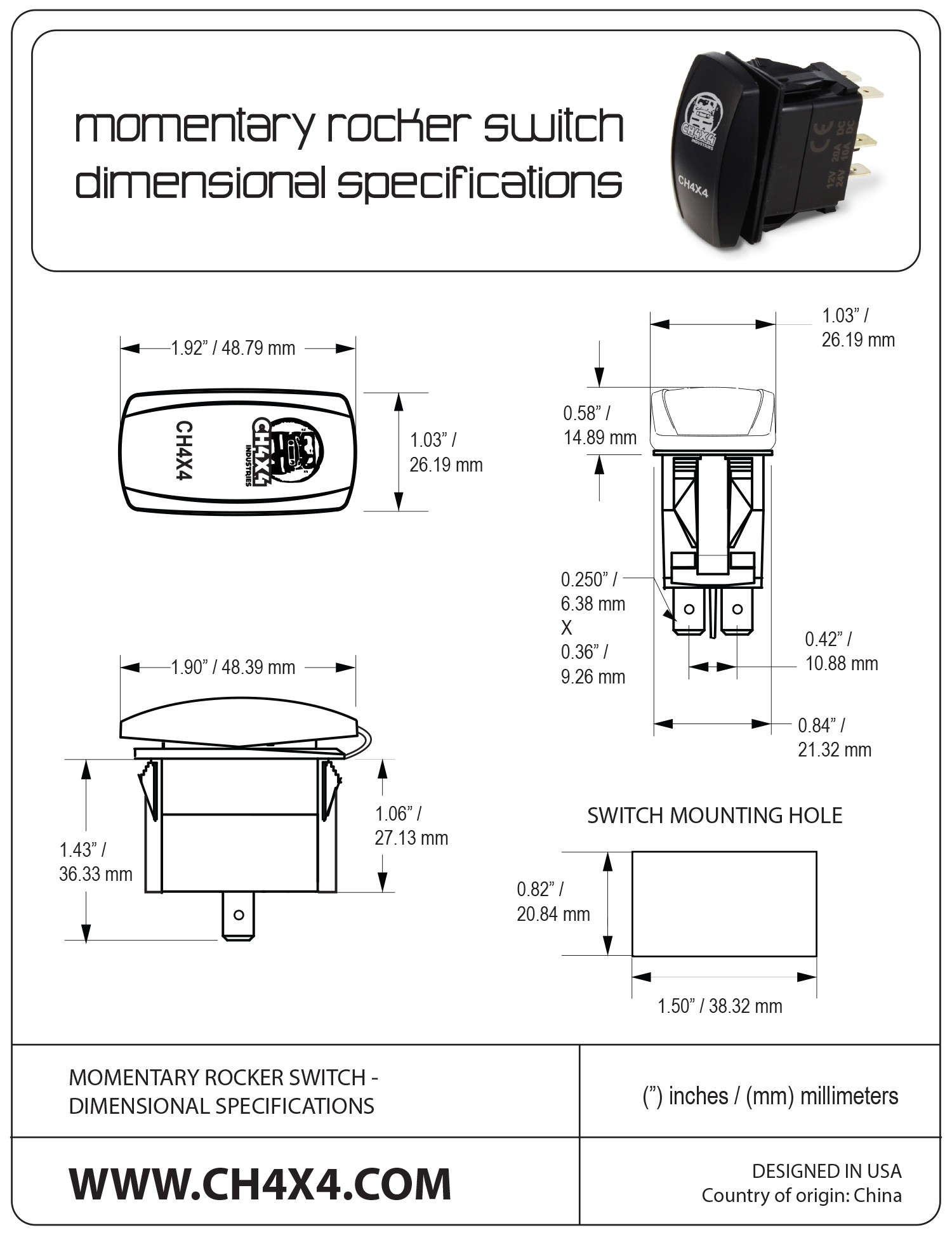 4 Pin Rocker Switch Wiring Diagram Free Picture 6
