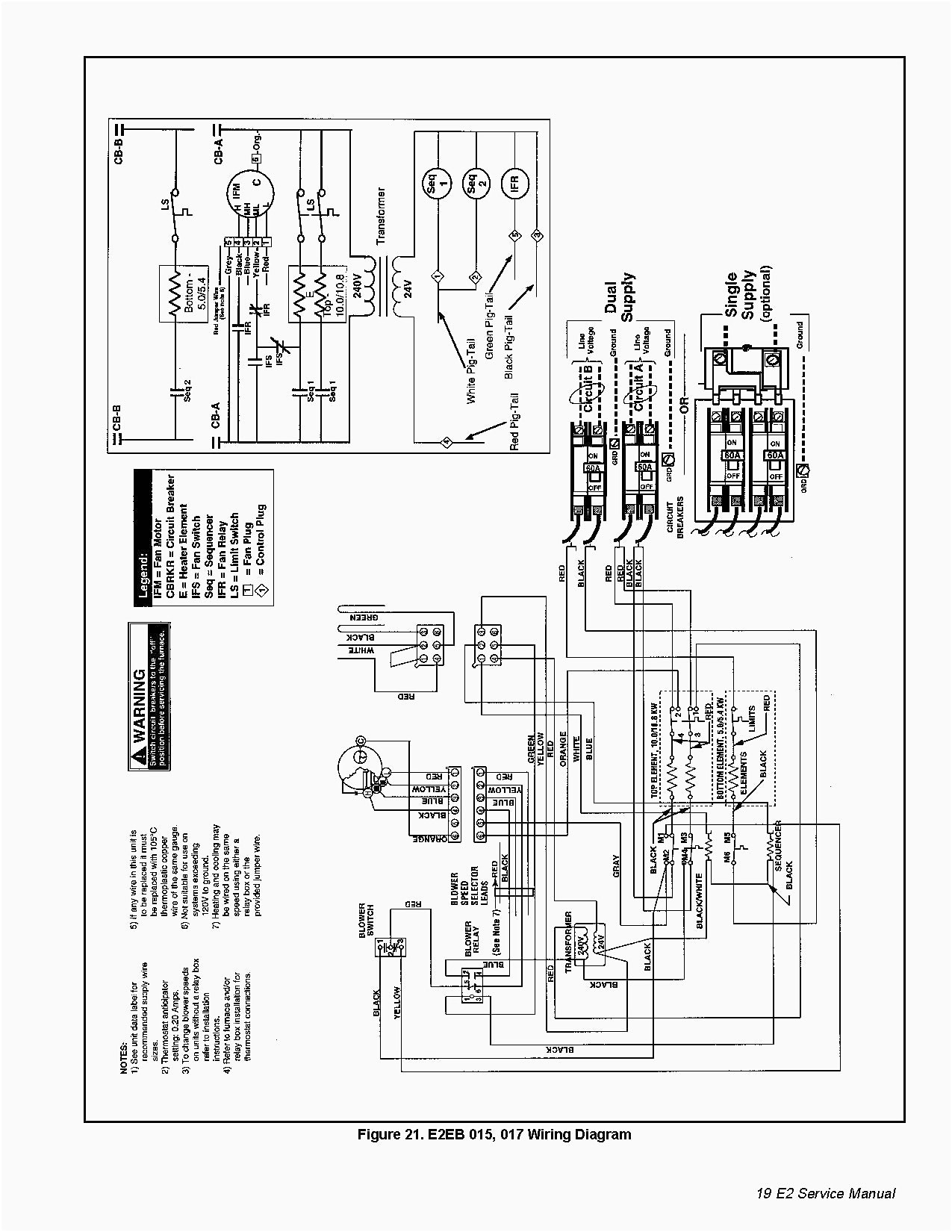Nordyne furnace wiring diagram manual e2eb 015ha bright wire with