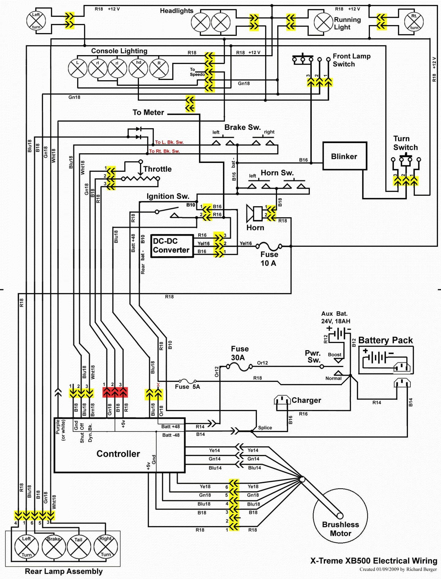 150 Gy6 Scooter Wiring Diagram