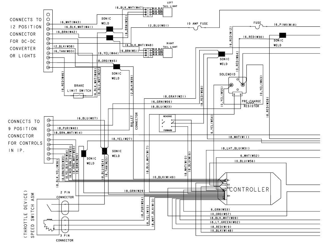 Light Wiring Diagram For Golf Cart