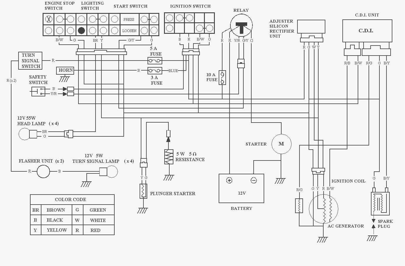12 Volt Voltmeter Wiring Diagram For