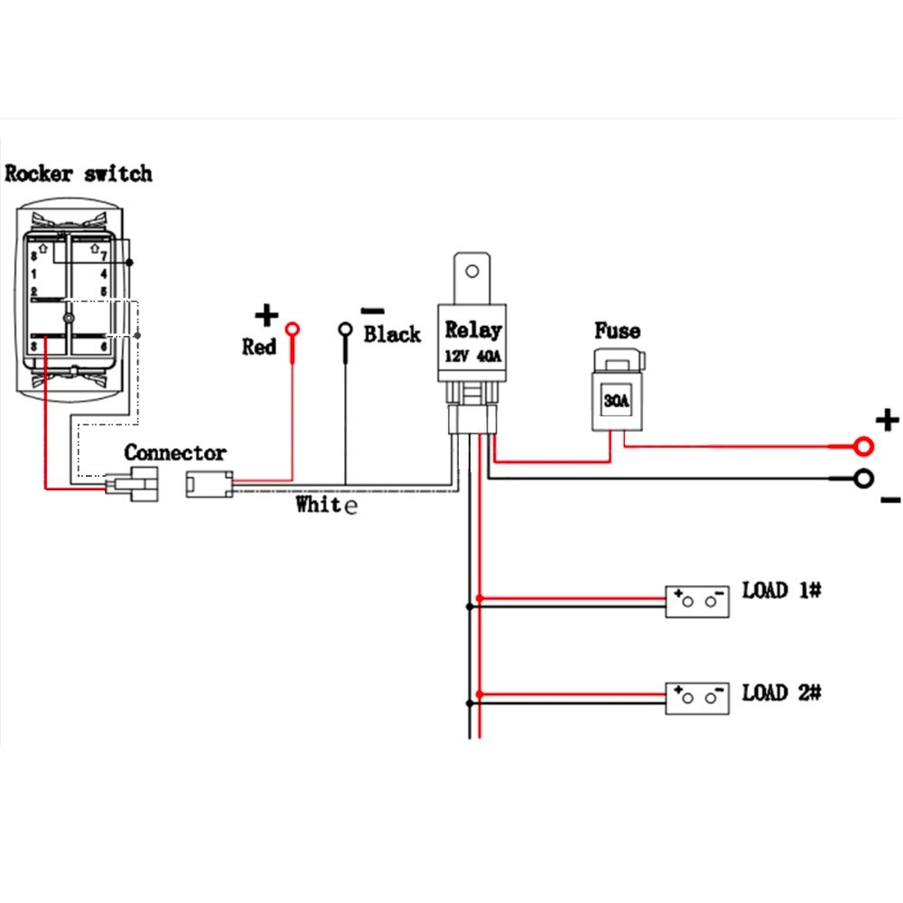 wiring diagram illuminated light switch free download wiring diagram rh xwiaw us 5 Pin Rocker Switch Wiring Diagram 5 Wire Switch Wiring Diagram