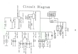 110cc Mini Chopper Wiring Diagram  Wiring Diagram
