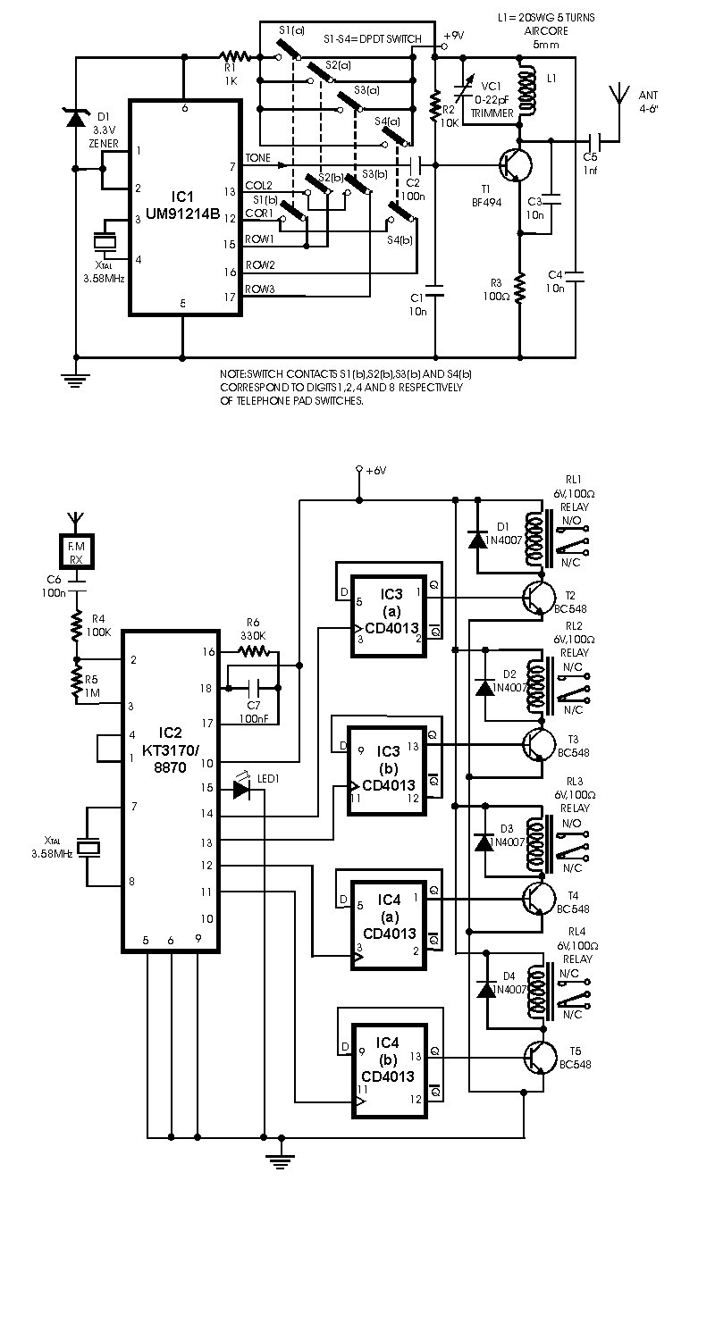 Circuit Diagram To Make A Remote Control Helicopter Free Download ...