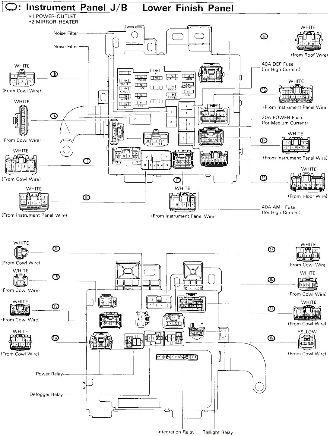 Wrg 94 Camry Le Wiring Diagram