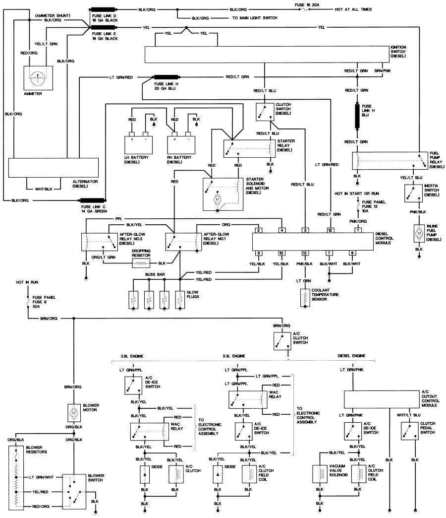 Or bronco ii wiring diagrams