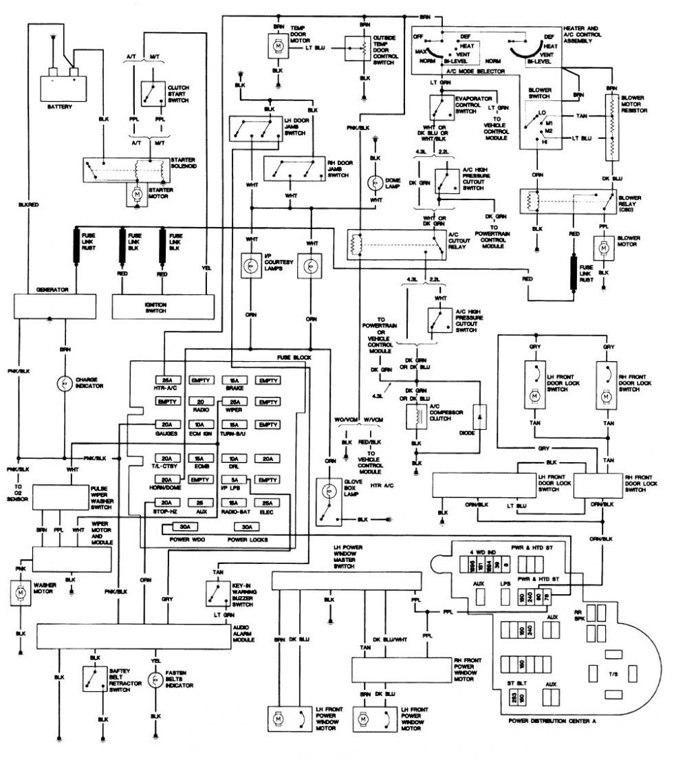 New wiring diagram for 1993 chevy s10 pickup outstanding
