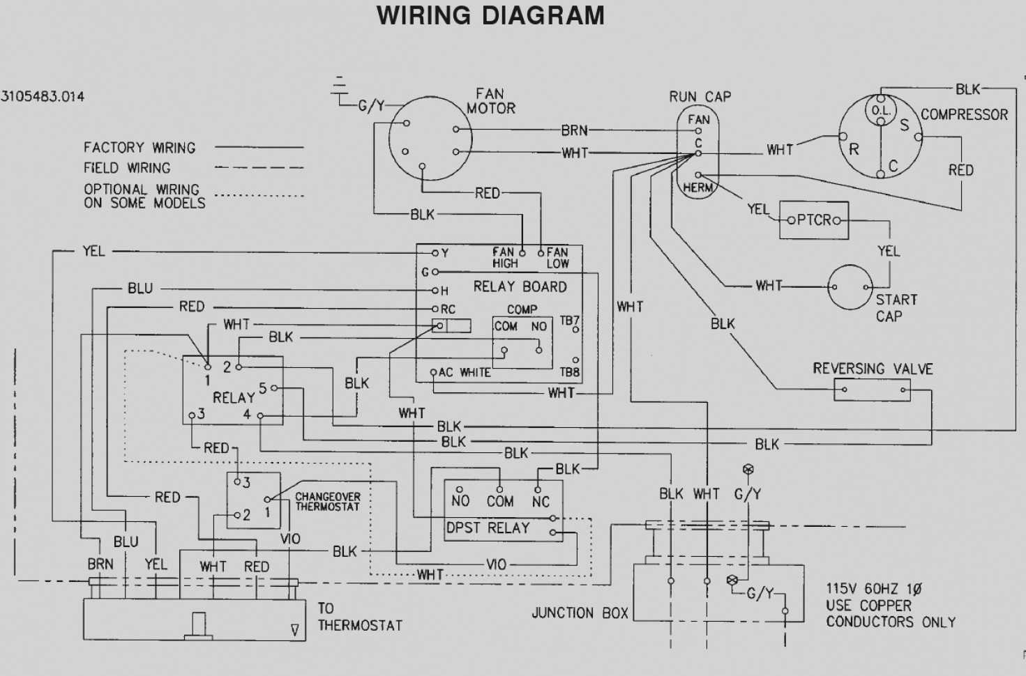 Wiring Diagram For Dometic Ac 000 Thermostat Kit