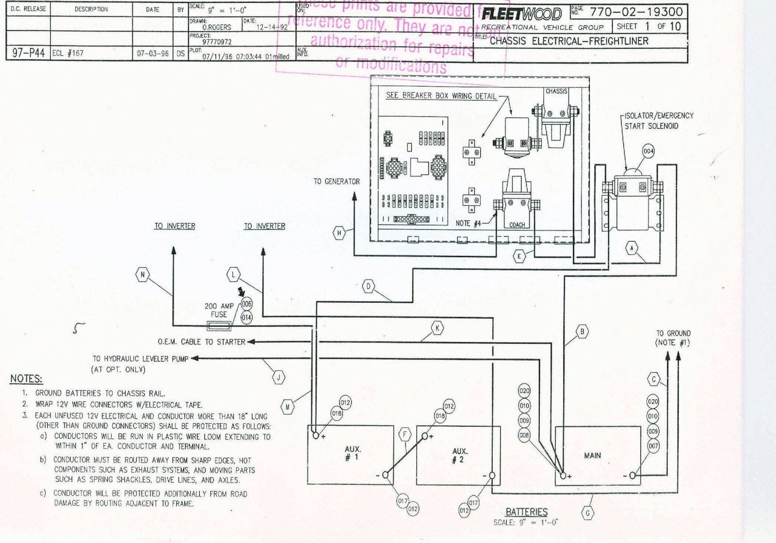 Fleetwood Bounder Wiring Diagram