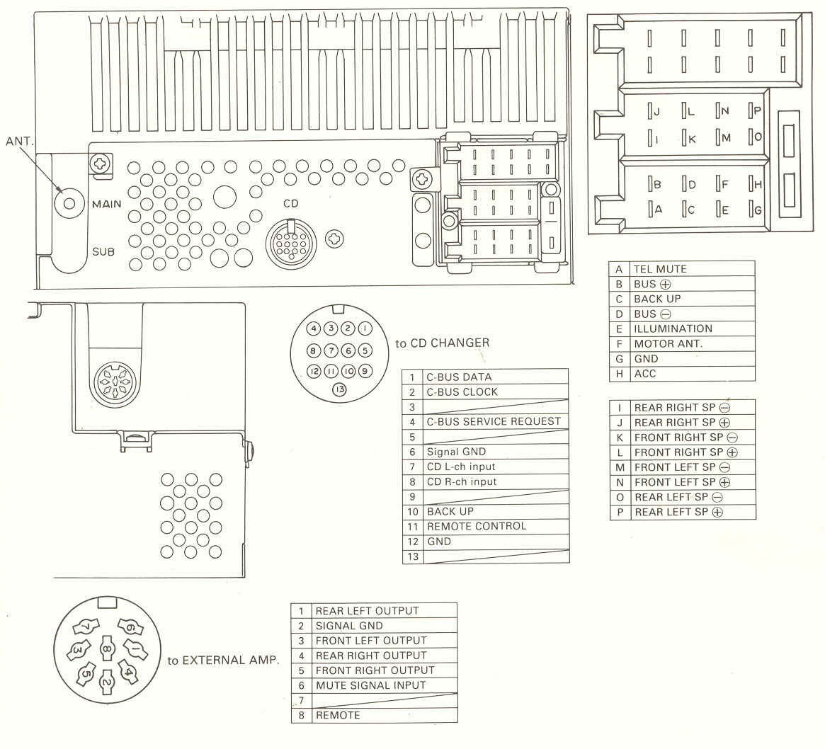 Corvette Bose Speaker Diagram