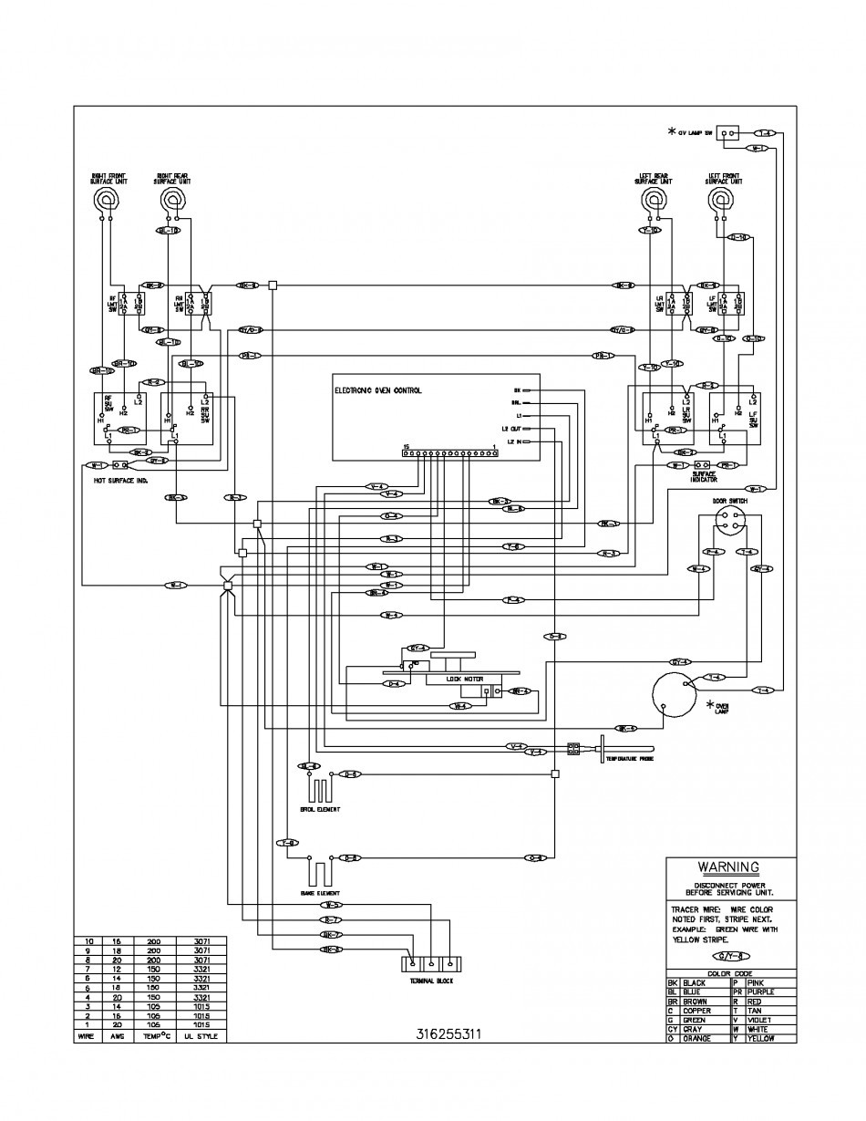 General Electric Microwave Wiring Diagram
